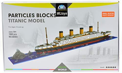 ICS Titanic Micro Block Set with 1860 Bricks (CIS-66503)