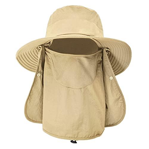 mlloaayo Gorros De Pesca Multifunción, Sombreros De Sol De...