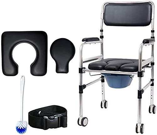 Shower Stool Bath Seats Shower Stool Shower Chair Elderly Commode Chair for...