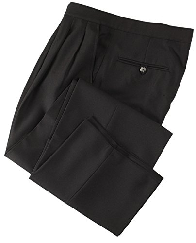 Smitty Referee Basketball Pleated Pants, Black, 46-Inch
