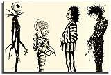 Tim Burton Edward Scissorhands Lienzo Impresiones Artísticas Y Carteles Cuadros De Pared para Decoraciones De Sala De Estar Sin Marco