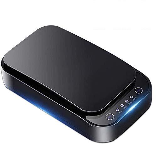 Dycsin U01 UV-Sterilisator für Smartphones, UV-Leuchten Handy Sterilisator, Reiniger Aromatherapie Funktion Desinfektor für iPhone Android Handy, Maske, Schmuck