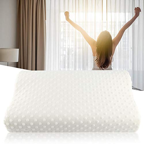 Emoshayoga Almohada fácil de Limpiar Completamente Nueva para Viajes en el Dormitorio(40 * 60cm)