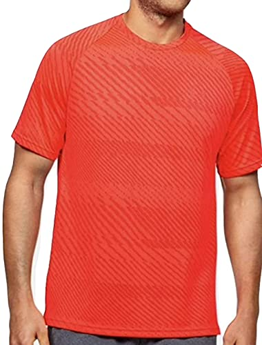 Under Armour Mens Velocity Jacquard Short Sleeve Crew Neck Ventilated Shirt (Medium)