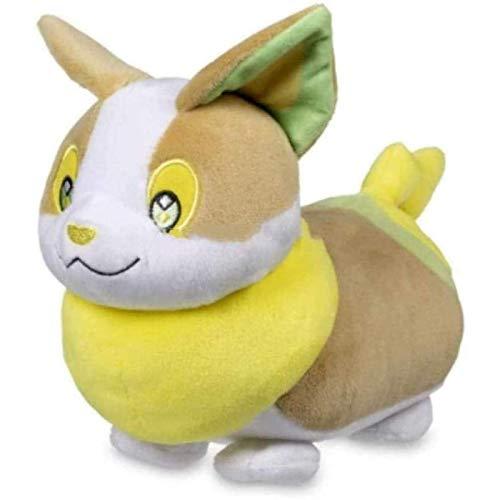 Pokemon Yamper muñeco de peluche Pokemon suave peluche espada escudo figura regalo para niños 20 cm