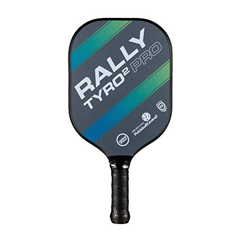 Rally Tyro 2 Pro Pickleball Paddle (Single Paddle - Ocean Blue)