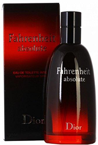 Fahrenheit Absolute by Christian Dior Intense Eau-de-toilette Spray for Men, 3.40-Ounce