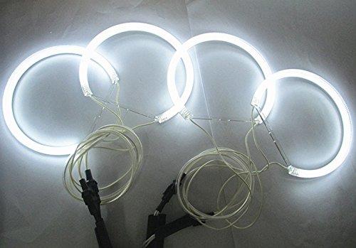 GFJMC BMW E46 CCFL Xenon White Halo Rings Angel Eye Light Headlight Kits for BMW E46(NON projector) Auto Light