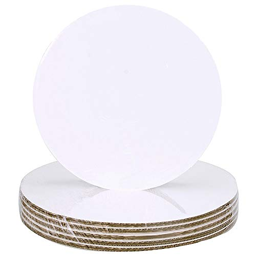"Cake Board Circle 8"", Count of 25"