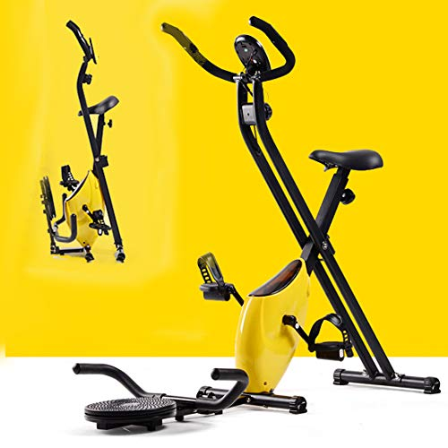 Folding Magnetic Hometrainer Indoor Fitness Equipment Exercise Cycling Bike Indoor Fitness Bike Home Workout en Cardio