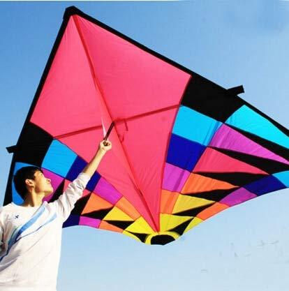 XiaoOu Drachen für Erwachsene große Delta Drachen Flugspielzeug Ripstop Nylon Sport Drachen Rolle Drachen Drachen Cerf Fallschirm Oktopus, 5m Drachen