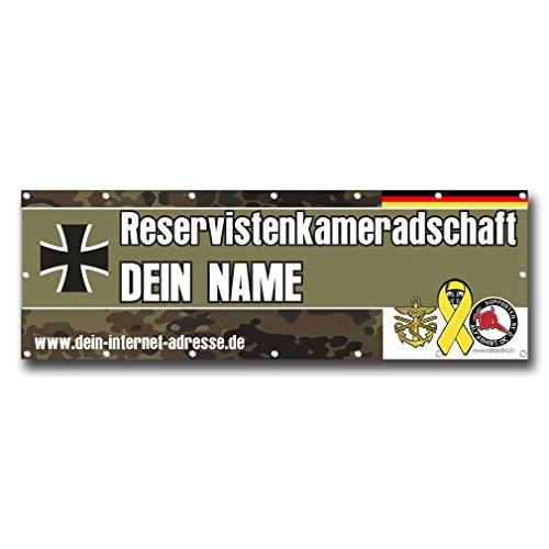 Copytec Banner Bundeswehr RK Reservistenkameradschaft Reservist PVC BW Werbung #24953