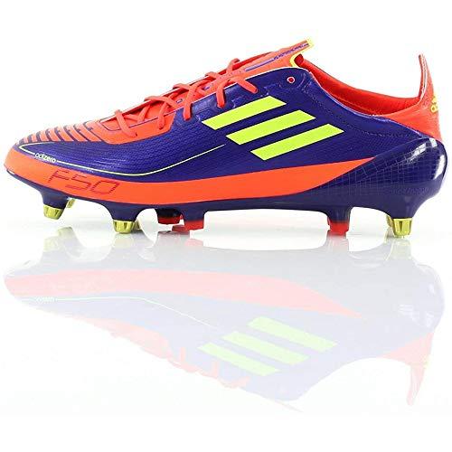 Adidas Herren Fußballschuhe F50 Adizero Prime SG, Violett - Violett und Orange. - Größe: 48 EU