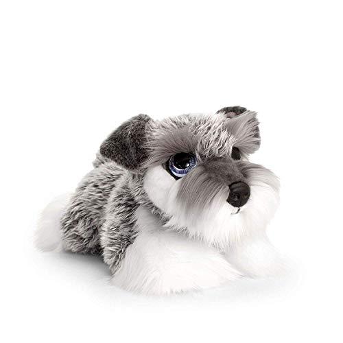 Keel Toys Cachorro de Peluche (47 cm), Color Gris, Talla ú