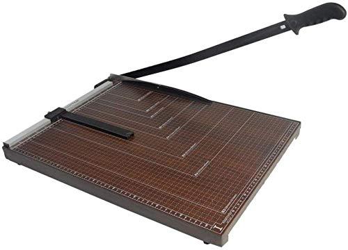 Cortadora de guillotina B3, cortadora de tamaño de papel, máquina cortadora de ancho máximo de 530 mm, cortadora de papel, grosor de corte de 3 cm-brown