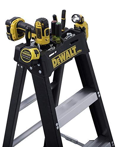DeWalt 6-Feet Fiberglass Stepladder, 300-Pound Duty Rating, DXL3010-06