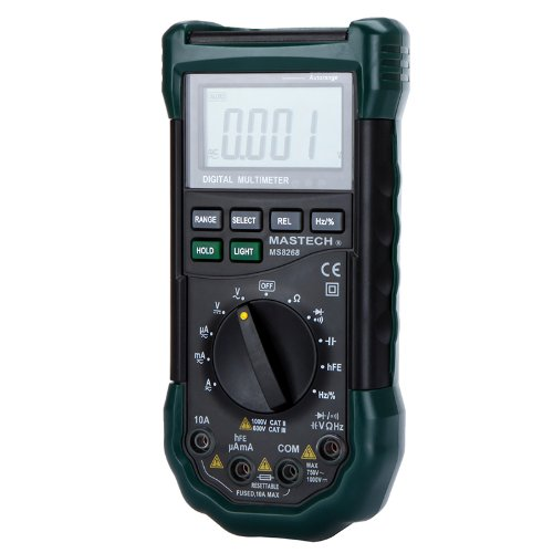 Mastech MS8268 Professional Digital Multimeter Meter...
