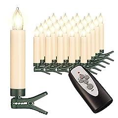 25 kabellose LED mit Timerfunktion