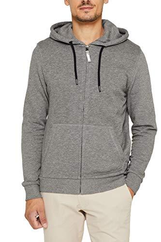 ESPRIT Herren 089Ee2J007 Sweatshirt, Grau (Medium Grey 035), (Herstellergröße: XX-Large)