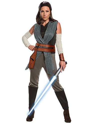 Rubie 's Offizielle Star Wars Die letzten Jedi Rey Damen Erwachsene Kostüm, kleine UK 8–10