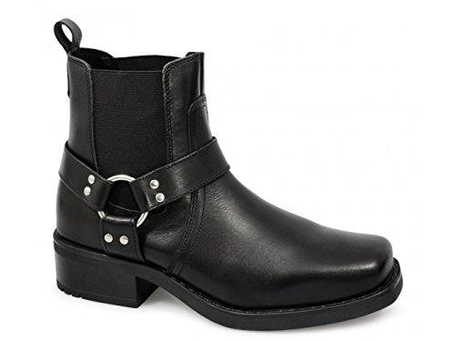 Harley Gringo Ankle Boots (43 EU, Schwarz)