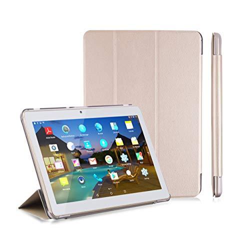 LNMBBS Custodia Cover X109(4+64G) Tablet 10.1 Pollici (Oro)