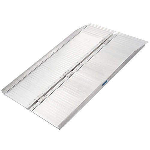 Silver Spring SCG-4 Folding Mobility and Utility Ramp-600lb. Capacity, 4'Long