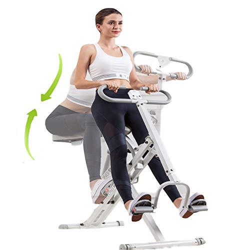 YSYDE Squat Assist Row, Cyclette da Allenamento Sunny Health Fitness, per l'allenamento Squat e l'allenamento dei Glutei, allenati su di Esso Ogni Volta Che Vuoi Anche a casa