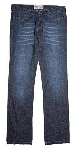 IRIEDAILY Skateboard Damen Jeans Love Rules Denim Blue, Hosengrösse:29