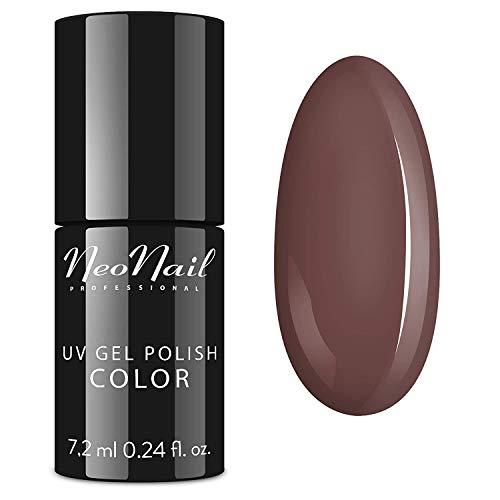 NeoNail UV Nagellack 7,2 ml - 10 Farben UV Lack Gel Polish Soak off Nagellacke UV Gele LED Polish Lacke Shellac (UV Nagellack 7,2 ml - Rosy Brown)