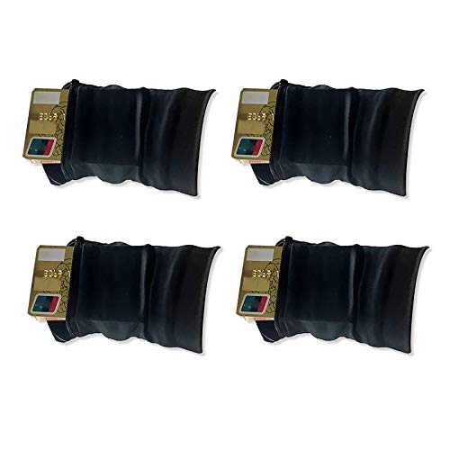 Samine 4 bolsillos deportivos para muñeca para correr, gimnasio, cartera, soporte para teléfono celular.
