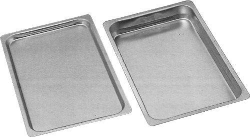 Gastronorm Einschubblech Backblech Blech GN 1/1 mit glattem Rand und 10 mm Tiefe