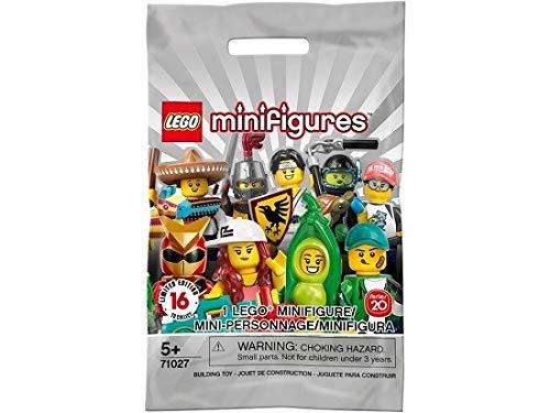 LEGO 71027 Minifiguras, serie 20 / Edición limitada 16 , una minifigura compuesta por 8 piezas