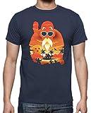 The Fan Tee Camiseta de Hombre Dragon Ball Goku Vegeta Goku Vegeta Mutenroshi Tortuga 3XL