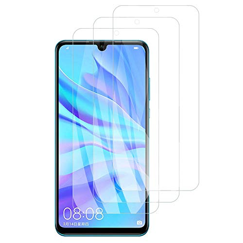 3 piezas Vidrio templado 9H, para Huawei Mate 30 20 10 Lite 20X P Smart Z 2019 P30 P40 Lite Protector de pantalla Película de vidrio-Para Huawei P Smart 2019