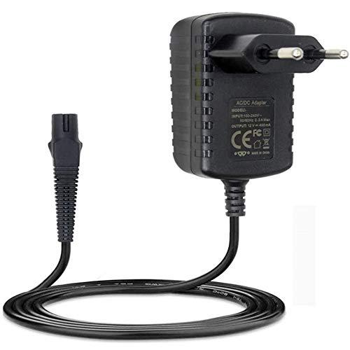 4G-Kitty 12V 400mA Fuente de alimentación Cargador para afeitadora para Braun Series 3 5 7 9 5030s 3040s 390cc 5190cc 5040S 7865cc Afeitadora eléctrica