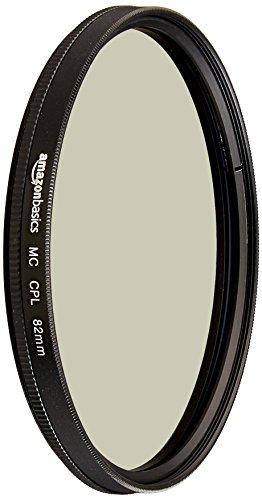 AmazonBasics - Filtro polarizador circular - 82mm
