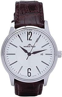 ساعة رجالي فاخرة ومميزة، لون بني مخفوق
