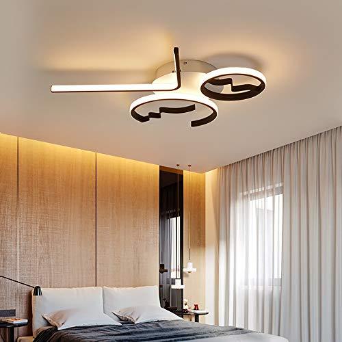 FGAITH LED slaapkamer lamp modern chic design plafond inbouw licht dimbaar paneel acryl uniek minimalistisch Livingroom hanglamp met afstandsbediening eetkamer keuken kantoor eiland
