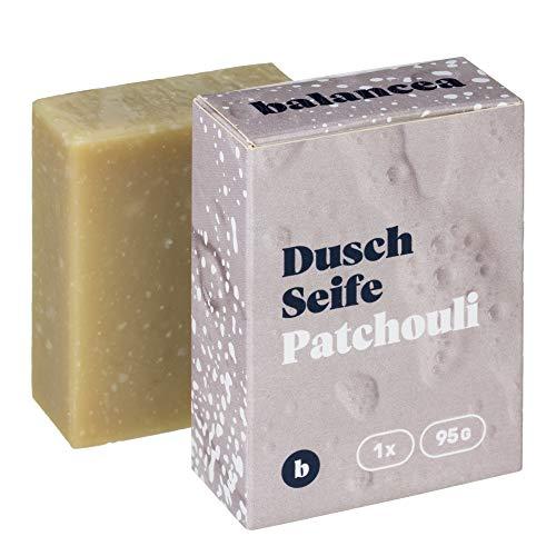 BALANCEA Seife Patchouli/Haarseife Naturseife Duschseife / 1er Pack (1 x 95 g)
