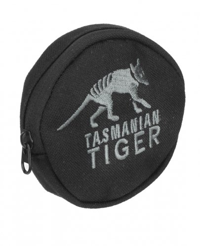 Tasmanian Tiger TT Dip Pouch - Bolsa para Bicicleta, 8 x 8 x 2 cm, Color Negro