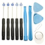 Vokmon 11PCS / Set 11 en 1 Teléfonos Móviles Primer Set de Herramientas Destornilladores Palanca reparación de los Kits de Herramienta de teléfono para Samsung