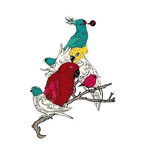 Maksim-003 11.2 * 16.1cm Pegatina Parrot Pegatina Coche Colorica