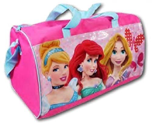 Disney Le Principesse borsone sport Cenerentola - Ariel - Rapunzel