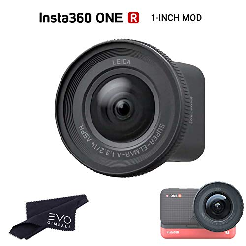 Insta360 ONE R 1-INCH MOD Upgrade for ONE R Camera to 5.3K30 & 19MP | Co-Engineered with Leica