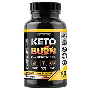 Keto Pills – BHB Capsules with Exogenous Ketones – 60 Capsules