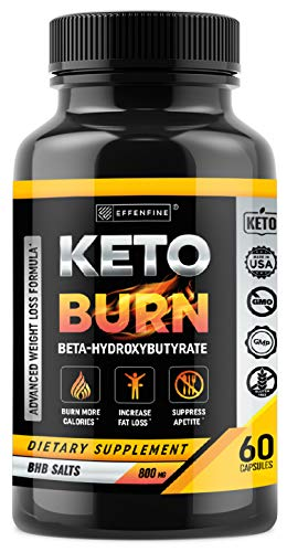 Keto Pills for Weight Loss - BHB Capsules with Exogenous Ketones - Boost Metabolism - Enhance Performance and Support Weight Loss