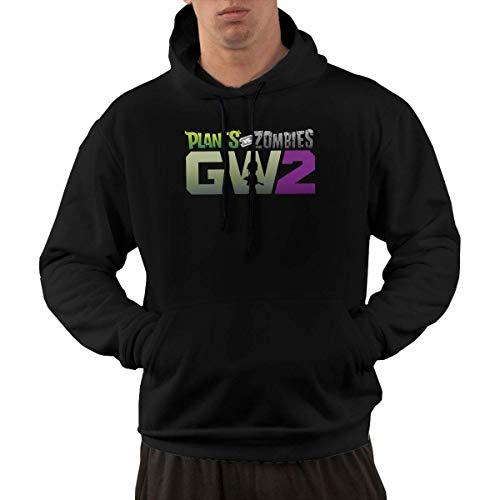 Lsjuee Plants Vs Zombies Garden Warfare 2 Casual Fashion Men 's Pocket Hoodie 1