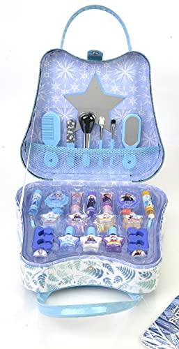 Frozen II Weekender - Maletín de Fin de Semana y Set de Maquillaje para Niñas - Maquillaje Frozen - Neceser Maquillaje y Accesorios en un Estuche Mágico