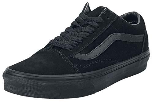 Vans Old Skool, Zapatillas de Entrenamiento Unisex Adulto, Negro (Suede Black/Black/Black Nri), 36 EU